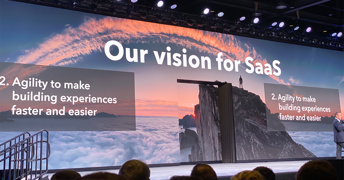 Vision for SaaS